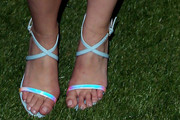 Jodie Sweetin Strappy Sandals