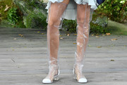 Arizona Muse Over the Knee Boots
