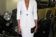 Naomie Harris Skirt Suit