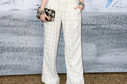 Ellie Bamber Wide Leg Pants