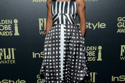 Kelly McCreary Print Dress