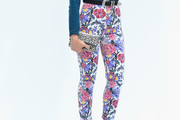 Alice Dellal Print Pants