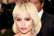 Zoe Kravitz Short cut with bangs