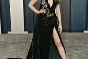 Madelaine Petsch Halter Dress
