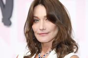 Carla Bruni-Sarkozy Medium Curls