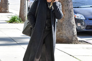 Hilary Duff Wool Coat