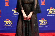 Mischa Barton Sheer Dress