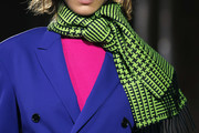 Bella Hadid Patterned Scarf