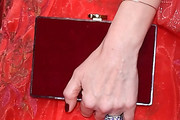 Leslie Mann Box Clutch
