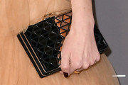 Erin Foster Metallic Clutch
