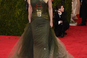 Donatella Versace Strapless Dress
