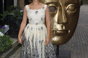 Antonia Thomas Print Dress