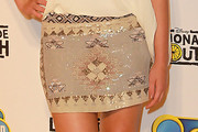 Naomi Scott Mini Skirt