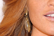 Cintia Dicker Dangling Gemstone Earrings