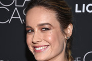Brie Larson Long Braided Hairstyle