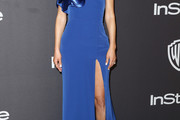 Maria Menounos One Shoulder Dress
