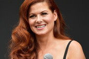 Debra Messing Retro Hairstyle