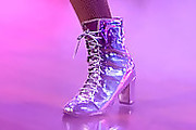 Megan Thee Stallion Lace Up Boots