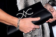 Princess Caroline Satin Clutch