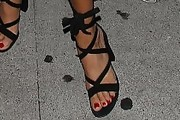 Ashley Madekwe Strappy Sandals