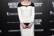 Valorie Curry Form-Fitting Dress