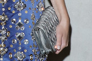 Mia Goth Quilted Clutch