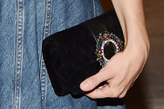 Alia Shawkat Gemstone Inlaid Clutch