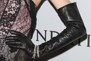 Jaime King Leather Gloves