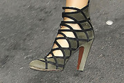Jennifer Esposito Strappy Sandals
