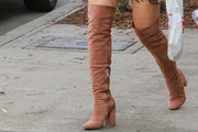 Hilary Duff Over the Knee Boots