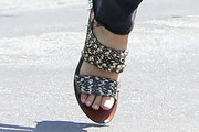 Jennifer Garner Studded Sandals