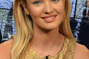 Candice Swanepoel Long Side Part