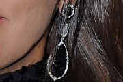 Whitney Houston Dangling Gemstone Earrings