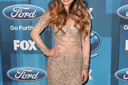 Jessica Sanchez Beaded Dress