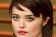 Sky Ferreira Long Straight Cut with Bangs
