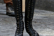 Taylor Momsen Knee High Boots