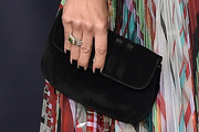 Selma Blair Velvet Clutch