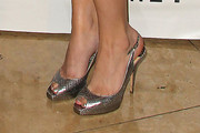 Helena Mattsson Peep Toe Pumps