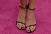 Danielle Campbell  Strappy Sandals