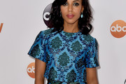 Kerry Washington Print Blouse