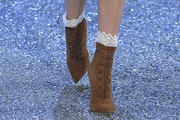 Lily Donaldson Lace Up Boots