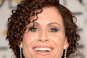 Minnie Driver Bobby Pinned updo