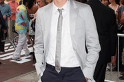 Paul Dano Narrow Solid Tie