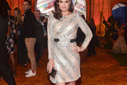 Idina Menzel Sequin Dress