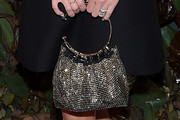 Nicky Hilton Metallic Purse