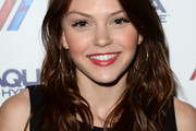 Aimee Teegarden Long Wavy Cut