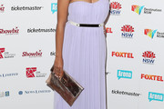 Miranda Tapsell Strapless Dress