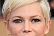 Michelle Williams Messy Cut