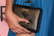 Neelam Gill Leather Clutch