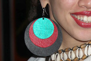 Naima Adedapo Dangle Wooden Earrings